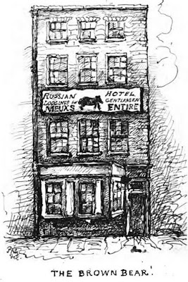 The Brown Bear from Chronicles of Bow Street   Police-Office by Percy Fitzgerald (1888)