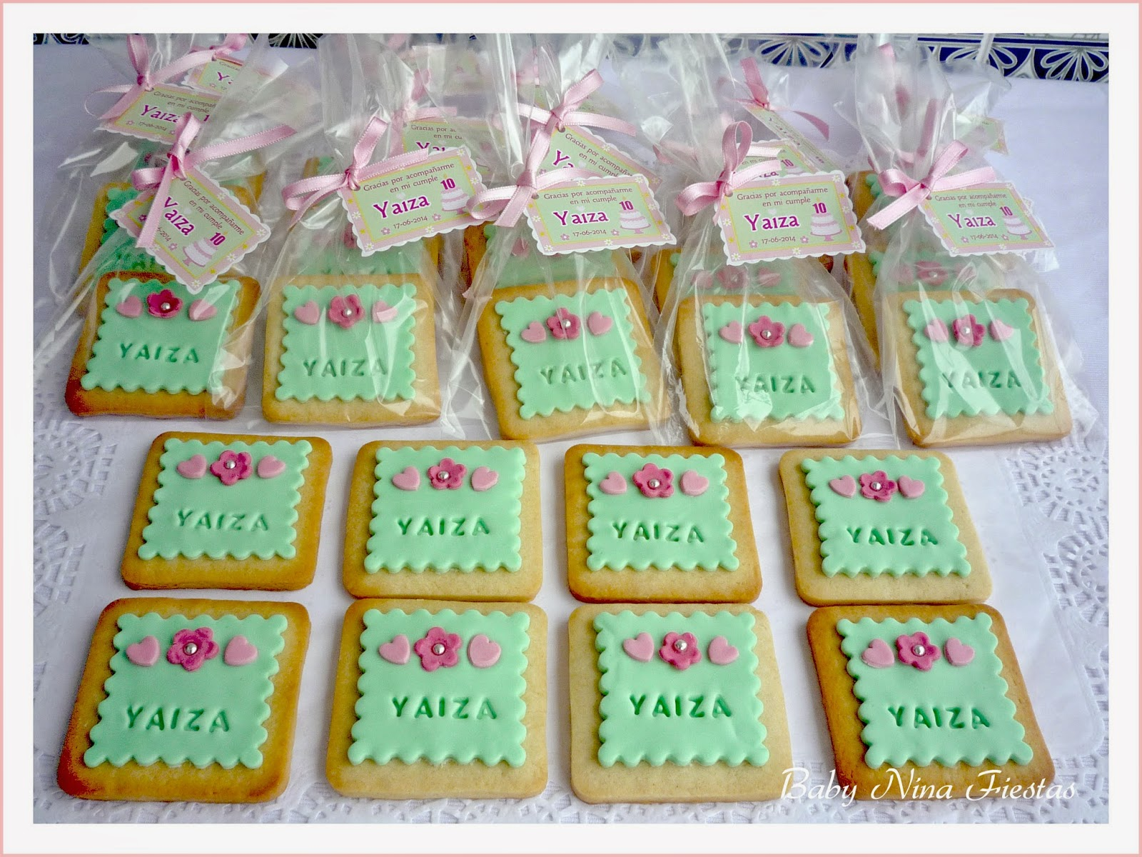 Galletas decoradas personalizadas