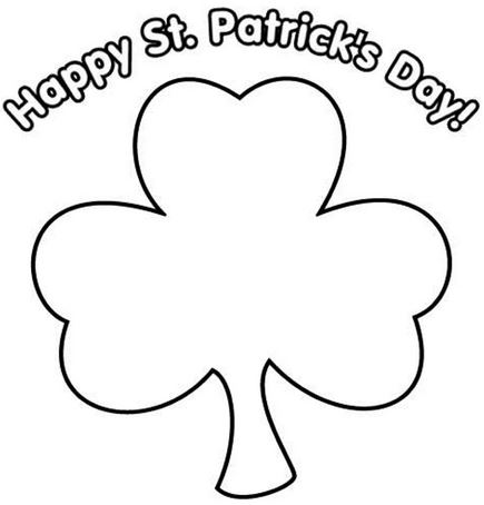Happy St Patricks Day 2017 Crafts,Worksheets, Printables Coloring Pages Cards