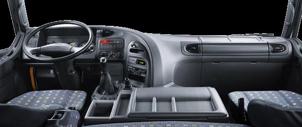 Nội thất đầu kéo HD700