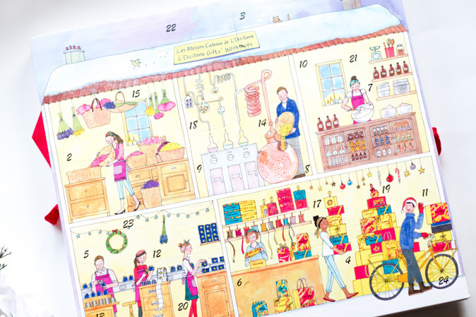 L'Occitane Holiday Beauty Advent Calendar 2016