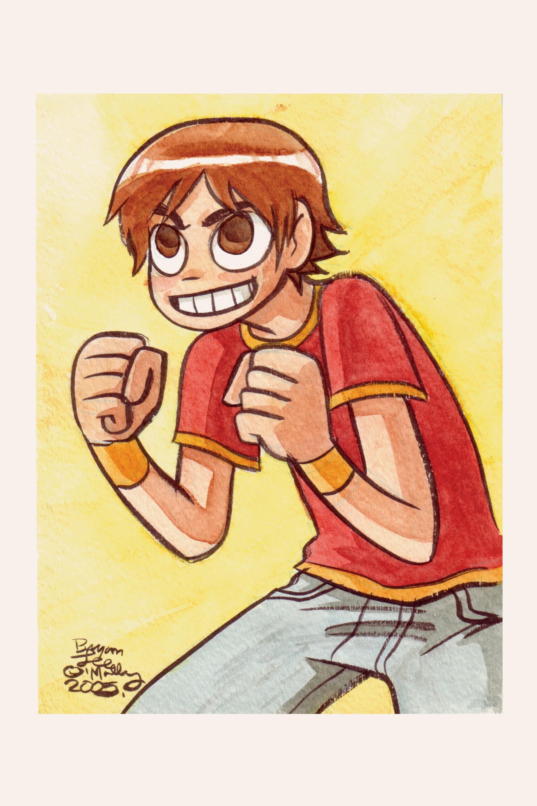 Read online Scott Pilgrim comic -  Issue #5 - 181