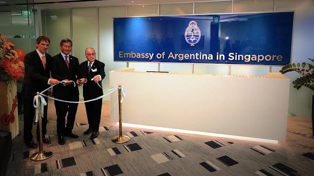 Argentina reabre su embajada en Singapur @CancilleriaARG