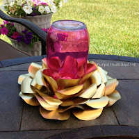 http://www.plumperfectandme.com/2016/06/recycled-sodabeer-cans-candle-holder.html