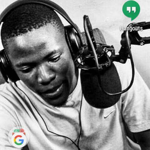 Radio Presenter JJ| Photo Courtesy| Jay jay Google hang out