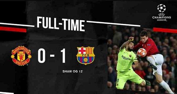 video cuplikan gol manchester united vs barceloa 0-1