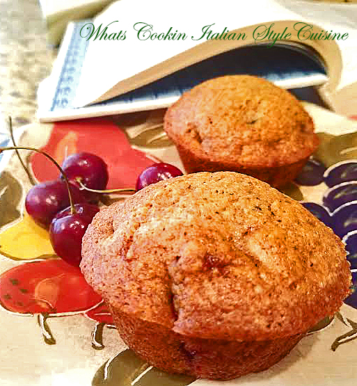 Best Bing Cherry Muffin