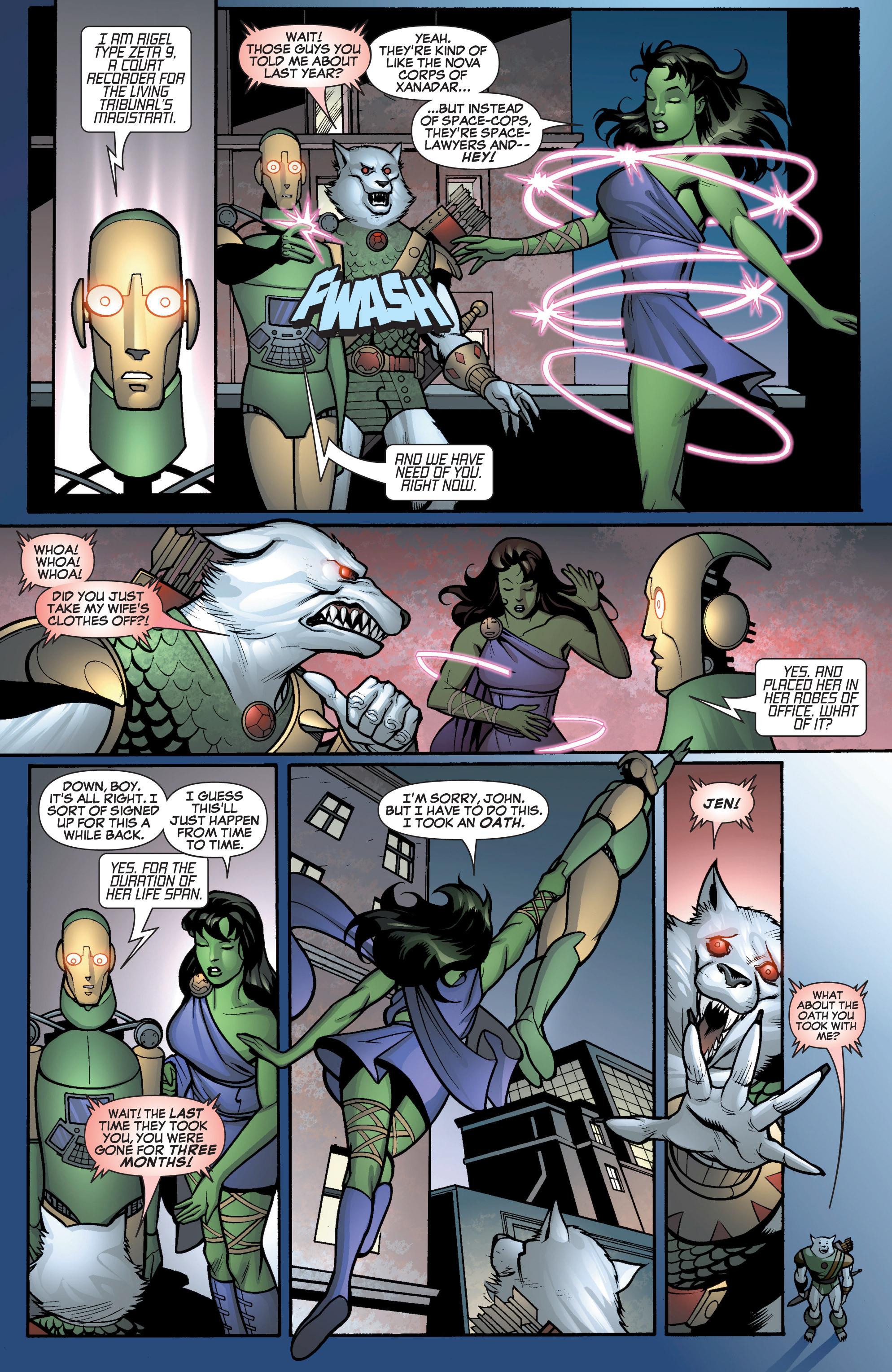 Read online She-Hulk (2005) comic -  Issue #12 - 7