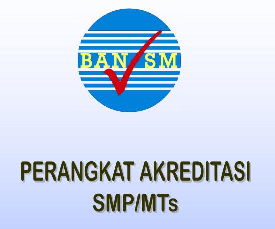 Download Lengkap Perangkat Akreditasi SMP-MTs 2016 BAN SP Resmi