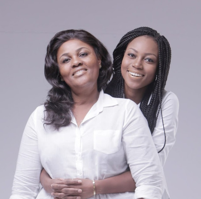 See How Gorgeous Ghanaian Actress Yvonne Nelson's Mum Is