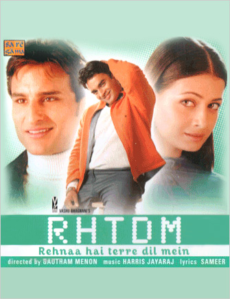 Rehnaa Hai Terre Dil Mein 2001 Hindi 480p HDRip – 400mb