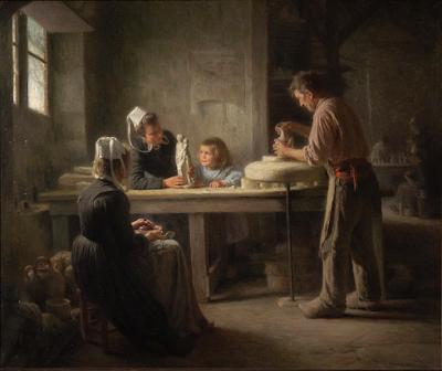 Faïancerie à Quimper (1906), Emma Herland