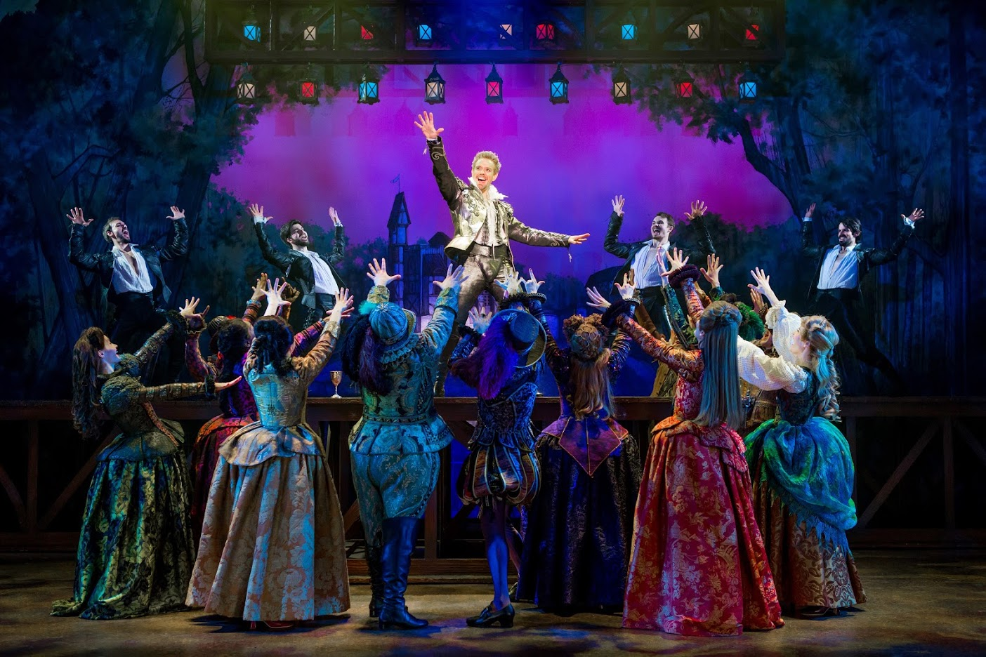 Something rotten is a must see musical for Farcical plot
