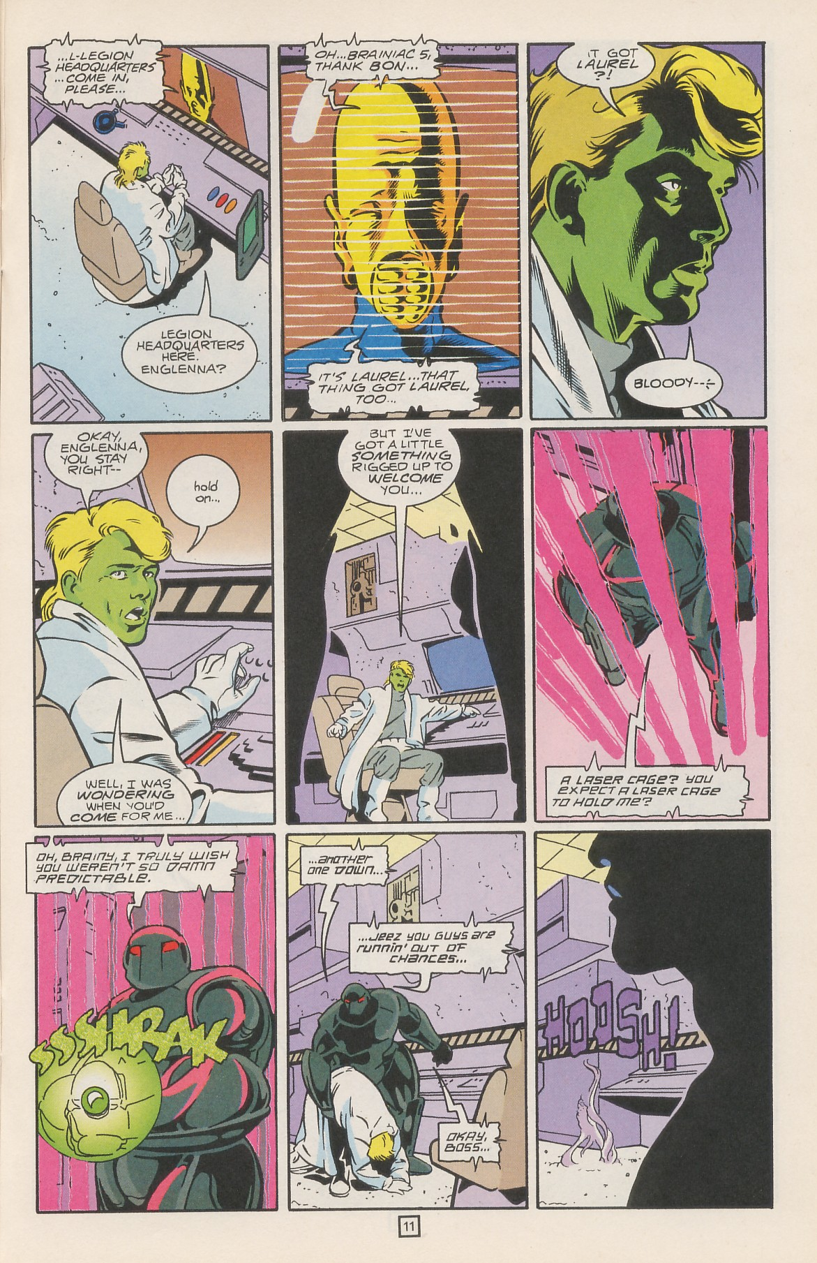 Legion of Super-Heroes (1989) 42 Page 14