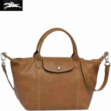 9cd32587ff24 Longchamp leather bag  generally speaking