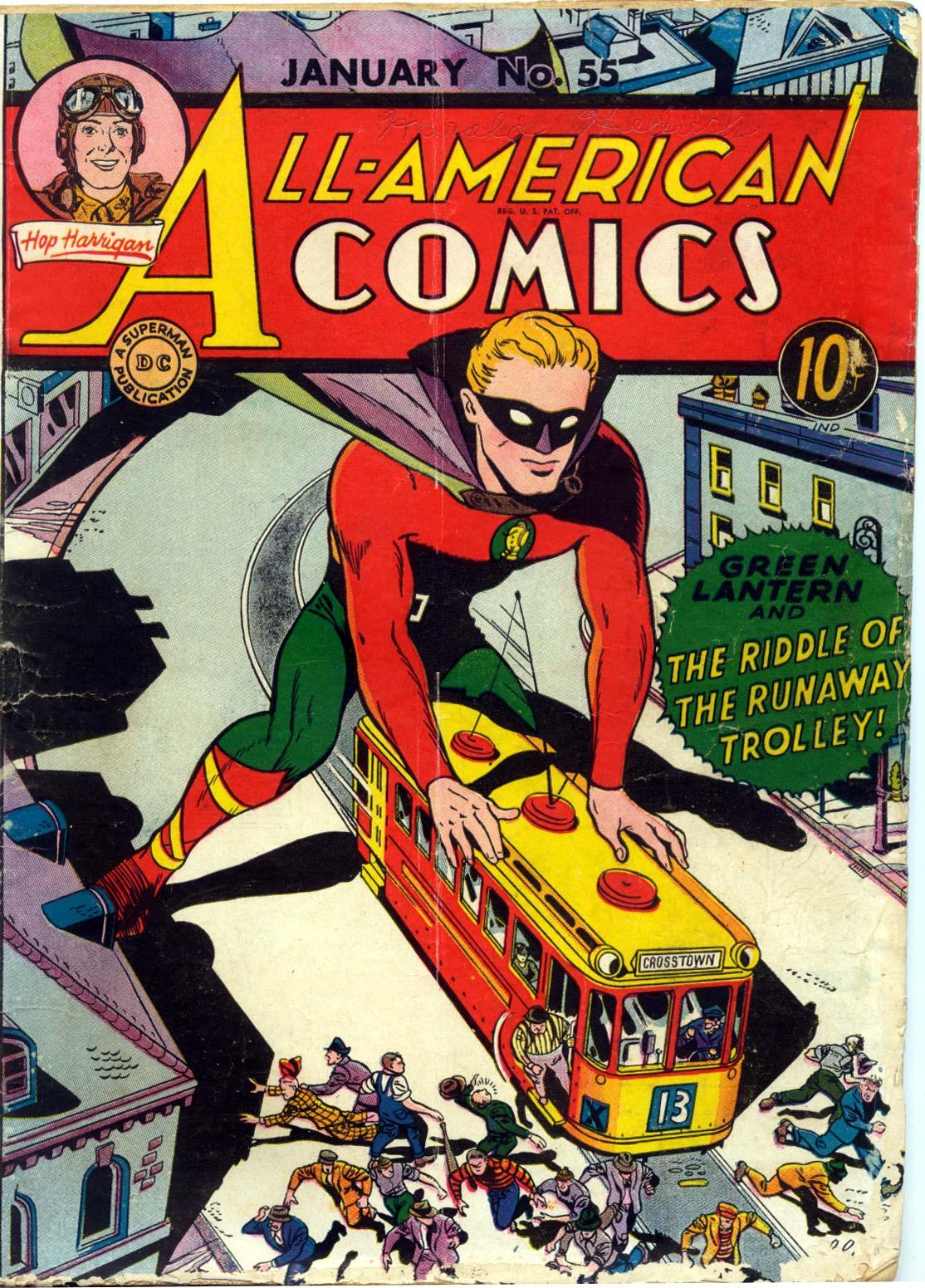 Read online All-American Comics (1939) comic -  Issue #55 - 1