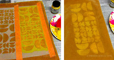 Andrew Borloz's Stenciled World with StencilGirl® Products
