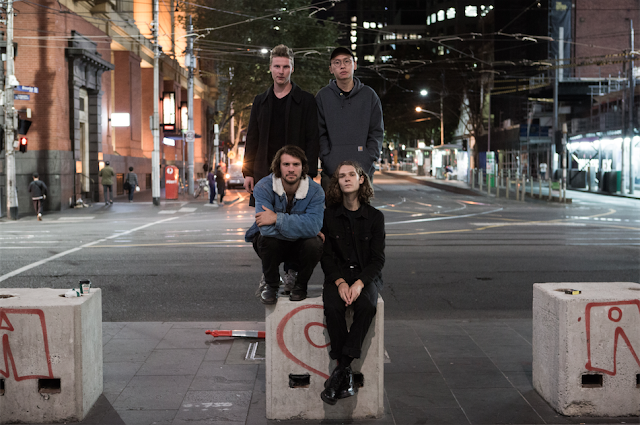 "Melbourne's Bollard - shape shifting ""En Bloc"" from the ""Trawlers"" Album"
