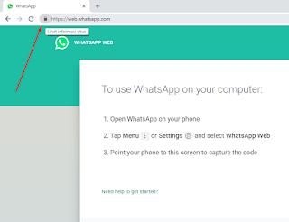 Cara Mengatasi Loading Pada Barcode WhatsApp Web Gambar 1