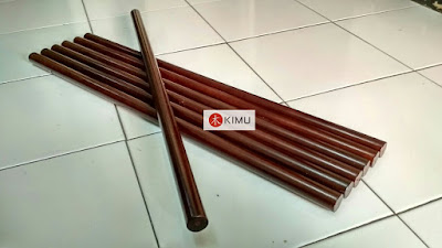 KIMU Dark Dragon Arnis Stick (Tongkat Arnis) 73cm