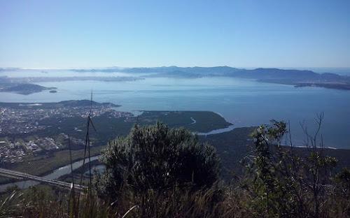 Vista do Morro Cambirela – Palhoça – Santa Catarina