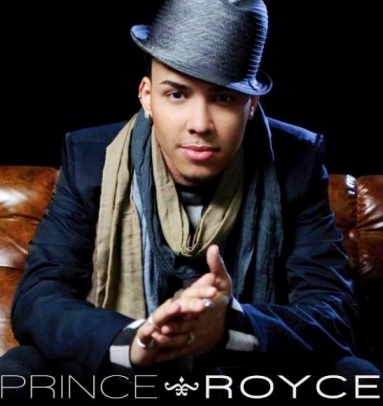 Foto de Prince Royce en portada de disco
