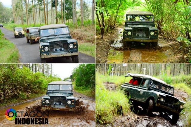 Outbound Offroad di Bandung