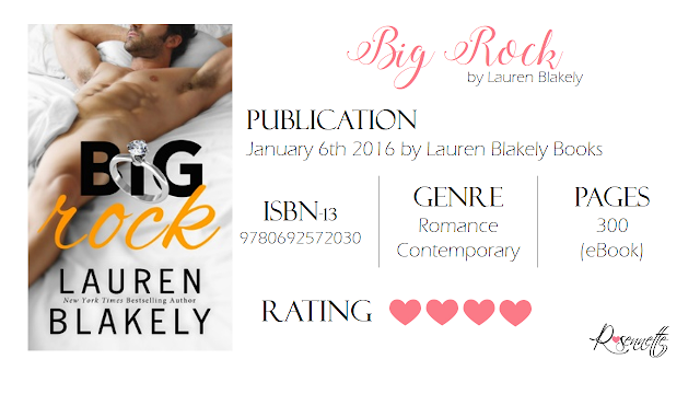 #BookReview: Big Rock by Lauren Blakely