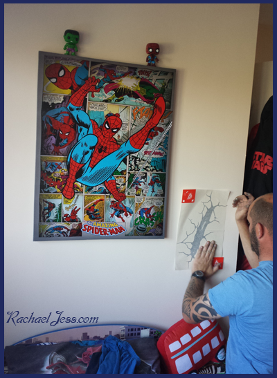 Creating a marvel themed bedroom with Superhero Canvas Prints