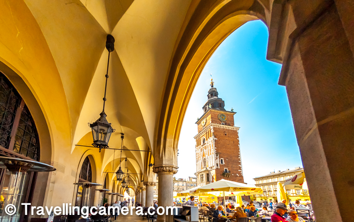 I was always debating if I should compile single post about Krakow or it's special places and more I thought about it, I realized that it may not do a justice to beauty of these architecture pieces which if I club them all and knowing specifically about them is important. Most of these places are adjoined and at walkable distance around Market Square of Krakow town in Poland. This post shares about Town Hall Tower of Krakow town and why this is so special in one of the most popular sites of this historic city in Europe.