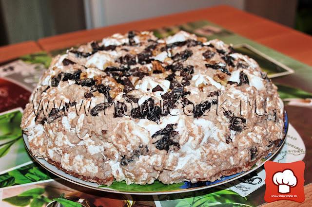 рецепт торта графские развалины в домашних условиях