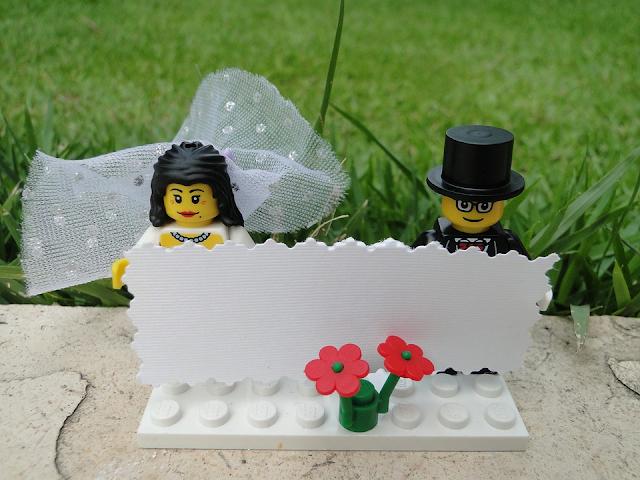 Lego Wedding Bride Groom Celebrate