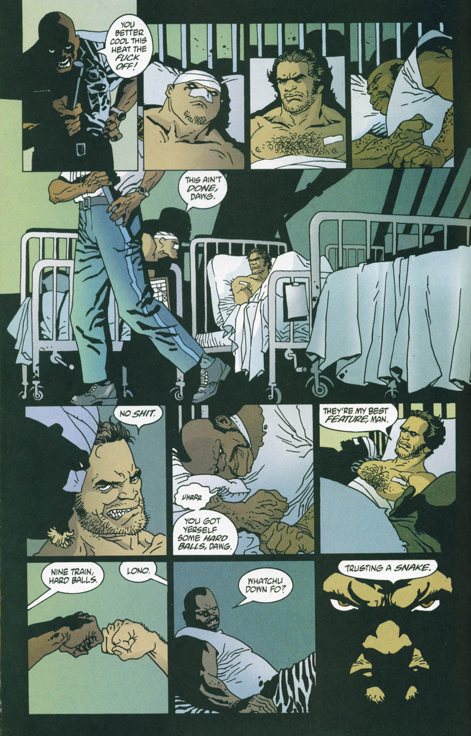 Read online 100 Bullets comic -  Issue #45 - 15