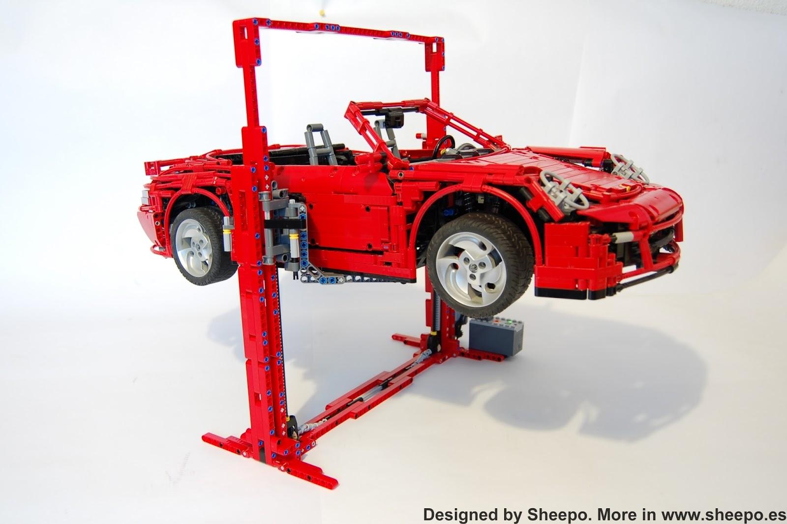 Car Lift Lego Technic And Model Team Eurobricks Forums
