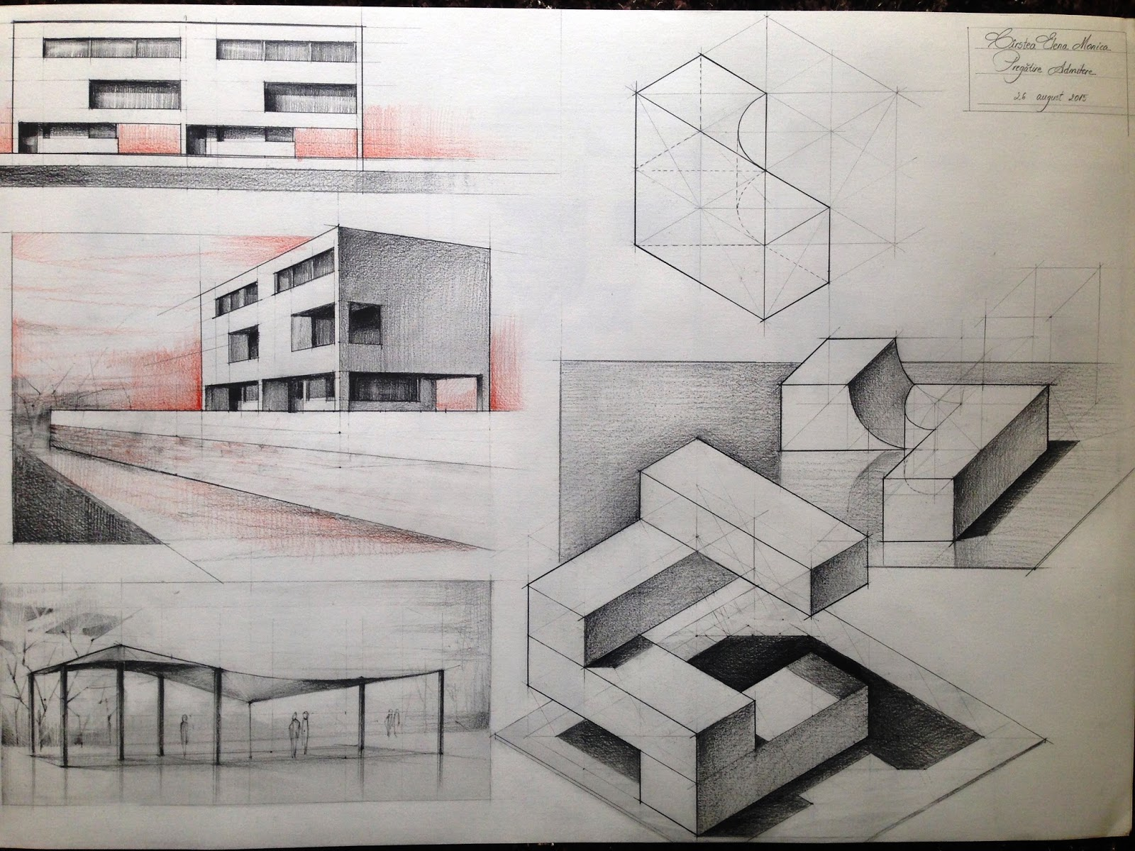 Dreams Of An Architect Summer Preparation For Architecture Exam