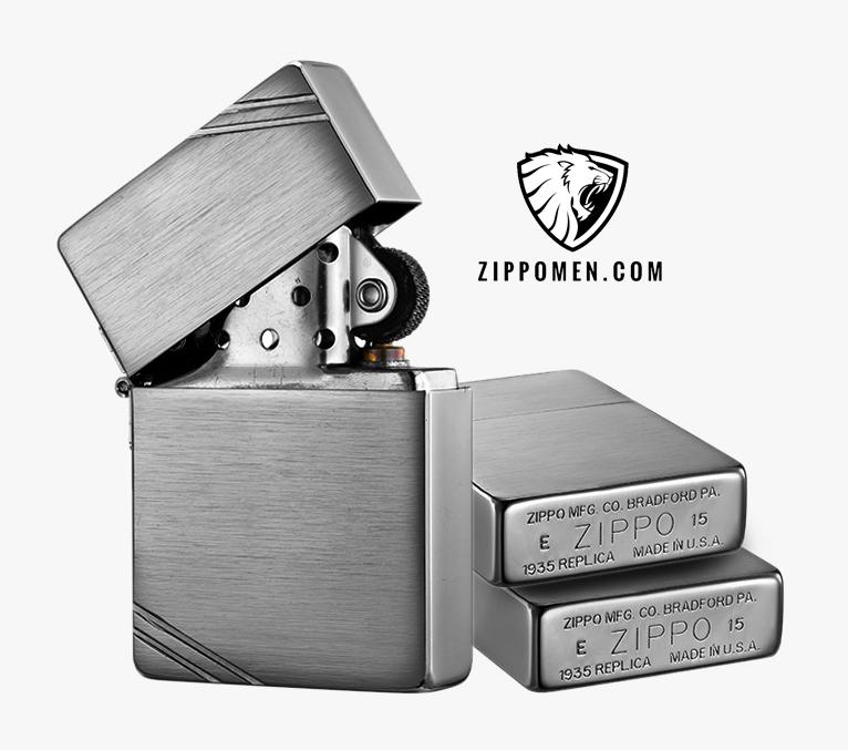 Zippo 1935 chặt góc MS 1935 | Zippo Hà Nội