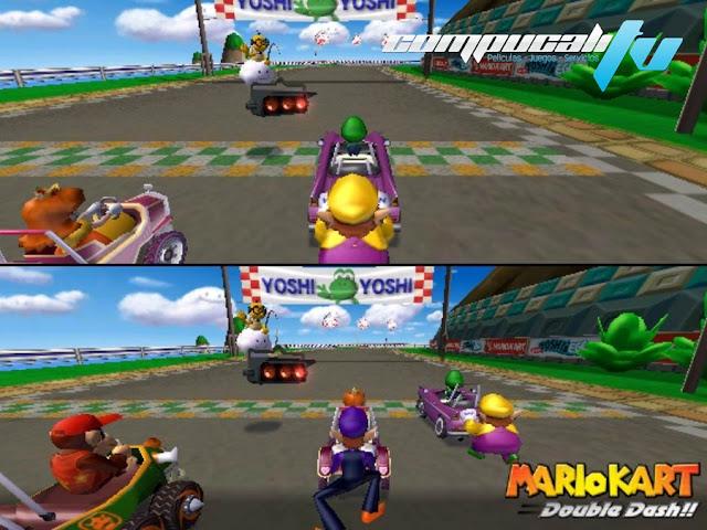 Mario Kart Double Dash PC Emulado Español