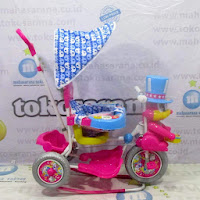 royal magician sepeda roda tiga