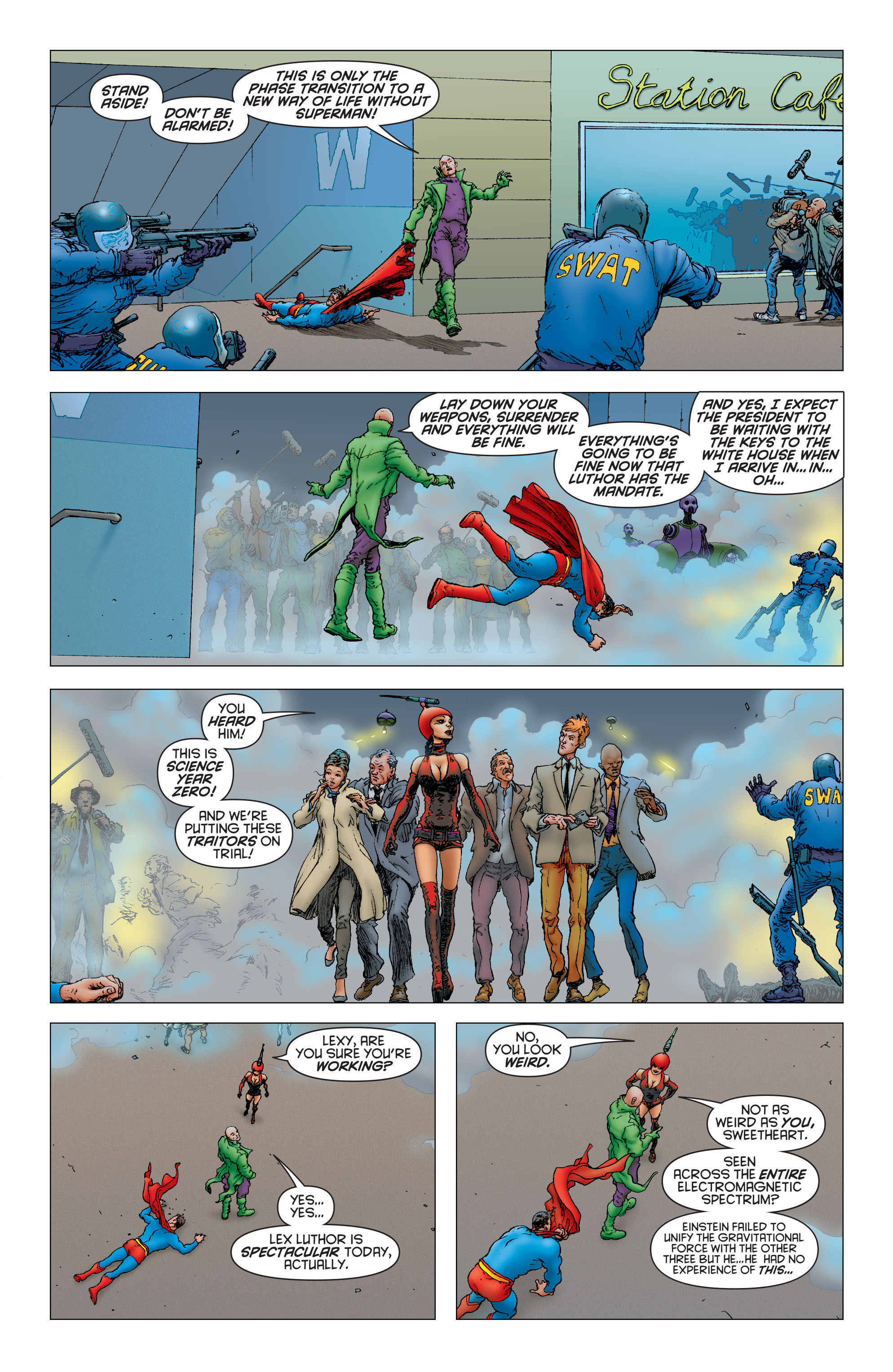 Read online All Star Superman comic -  Issue #12 - 15