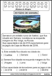 Estádio Samara mundial Rússia