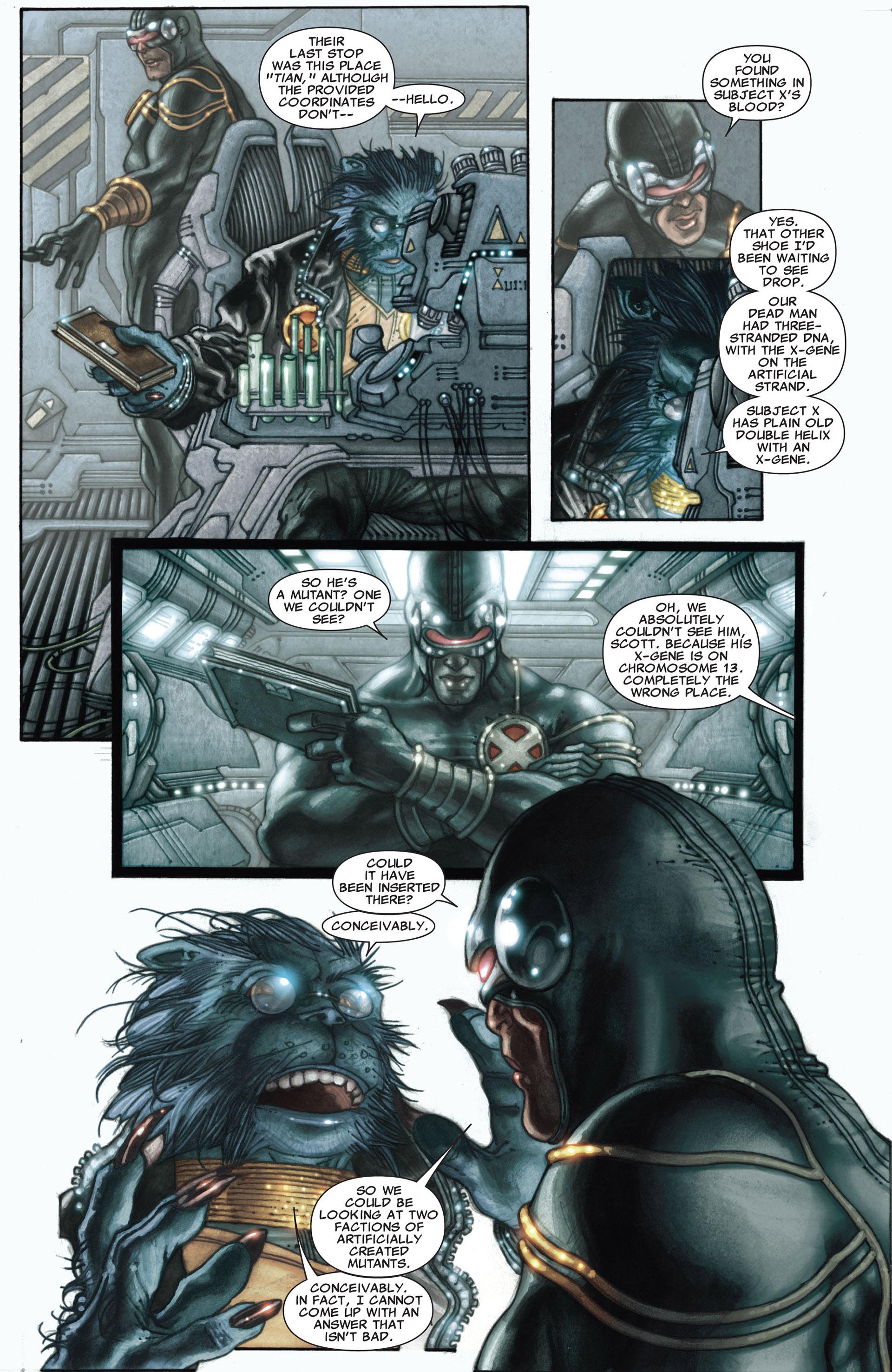 Read online Astonishing X-Men (2004) comic -  Issue #27 - 6