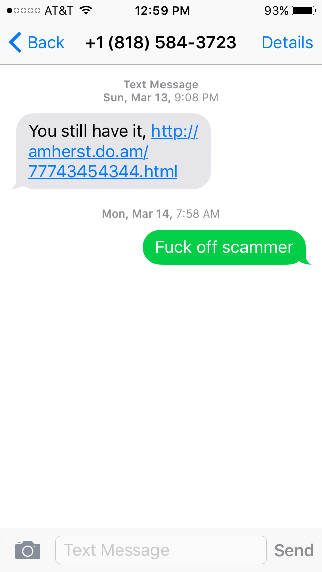 Things That Stick In My Craw Craigslist Scammers Stick In My Craw