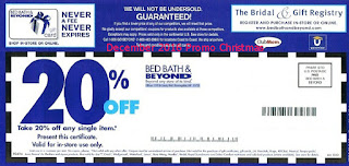Bed Bath and Beyond coupons for december 2016