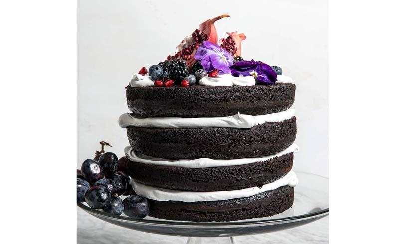Naked Wedding Cake Recipe