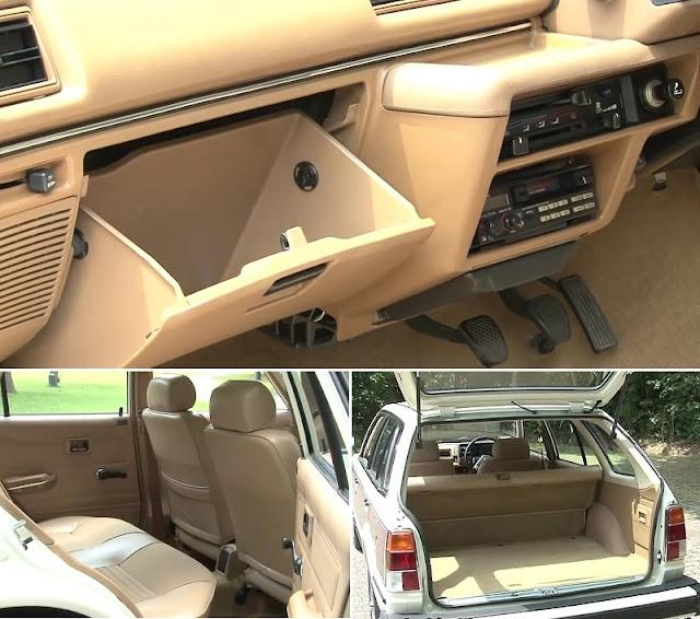 Honda Civic Country Station Wagon Interior