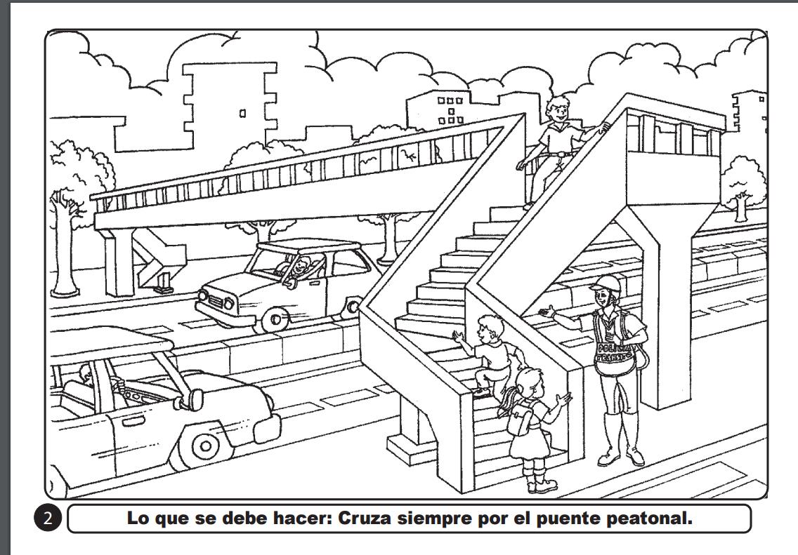 Excelente Puentes De Rubíes Para Colorear Para Niños Componente ...