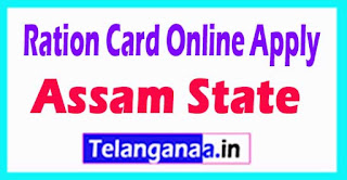 How to Apply Ration Card Online in Assam State