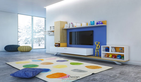 Colorful kids room designs with plenty of storage space interior design ideas