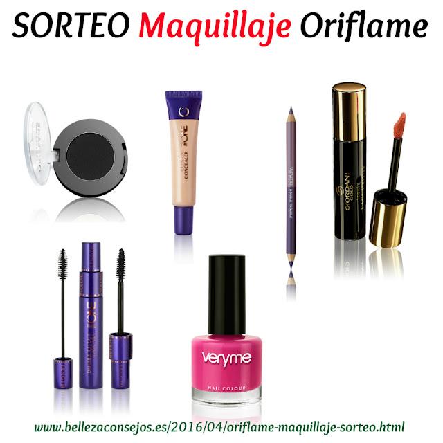 SORTEO maquillaje Oriflame