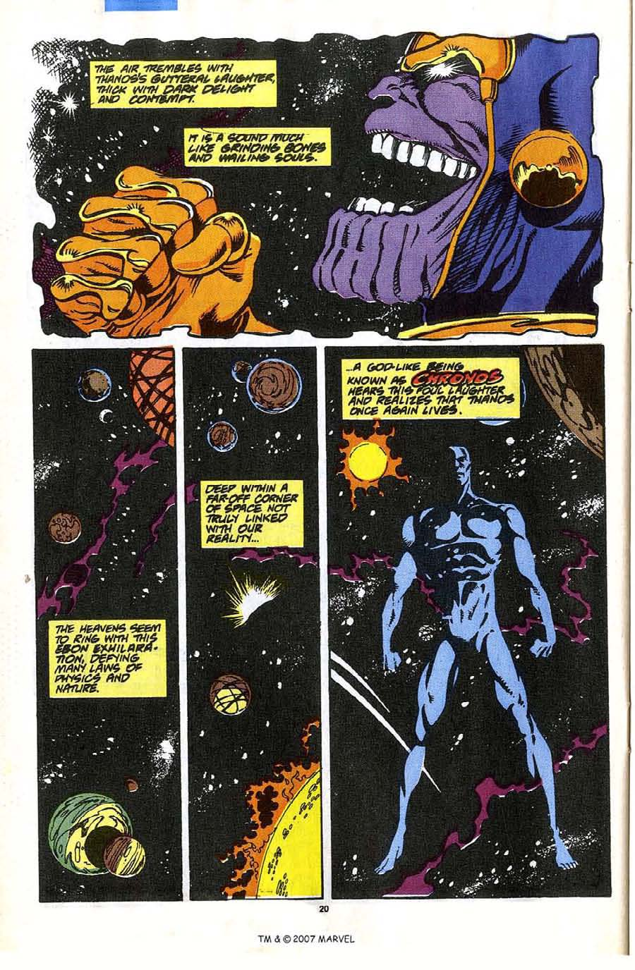 Read online Silver Surfer (1987) comic -  Issue #35 - 22